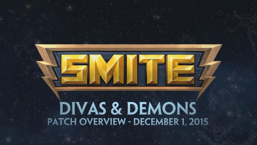 Smite Patch Overview - Divas & Demons video thumbnail