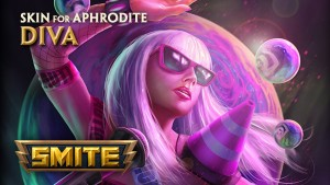 Smite Diva Aphrodite Skin Preview video thumbnail