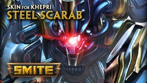 Smite Steel Scarab Khepri Skin Preview video thumbnail