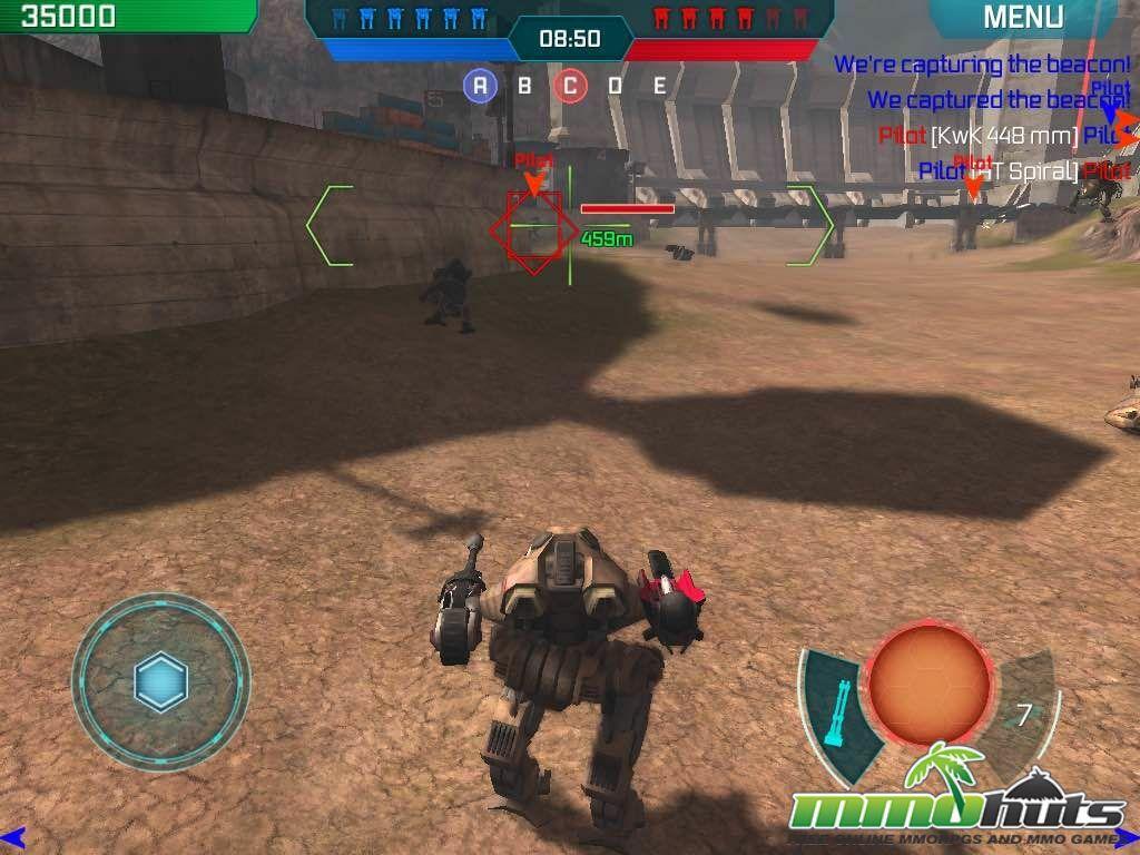 Walking War Robots Mobile Review