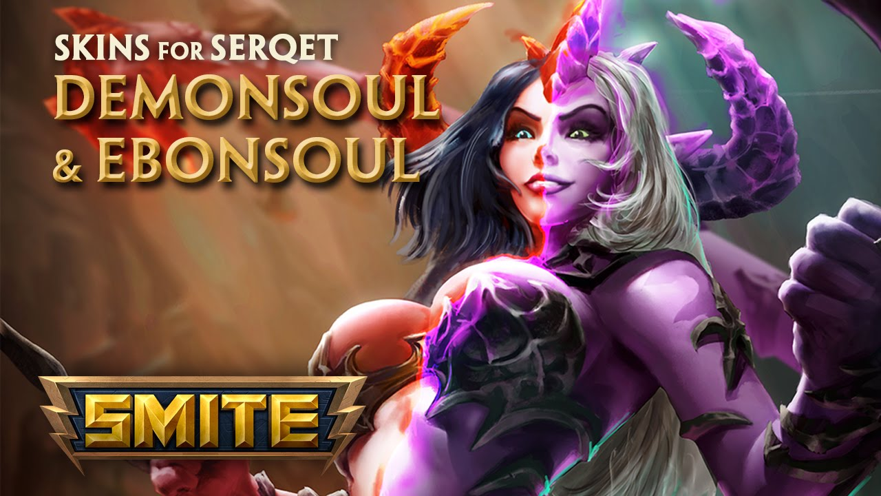 Smite Demonsoul and Ebonsoul Serqet Skins Preview video thumbnail