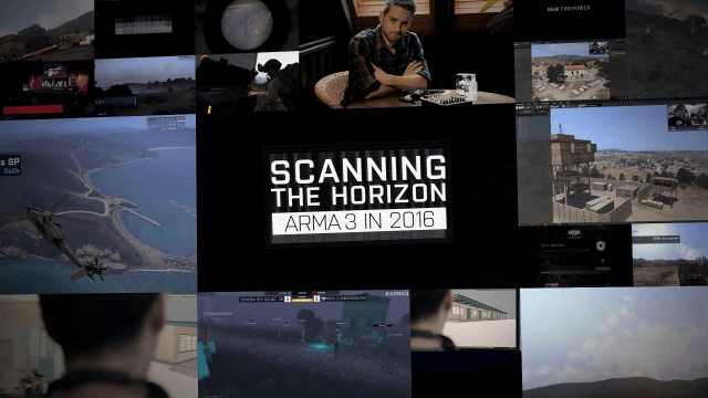 Arma 3 - Scanning The Horizon 2016 video thumbnail