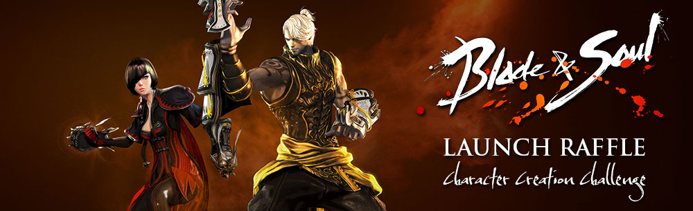 Go to Blade & Soul Launch Raffle Event – Character Creation Contest
