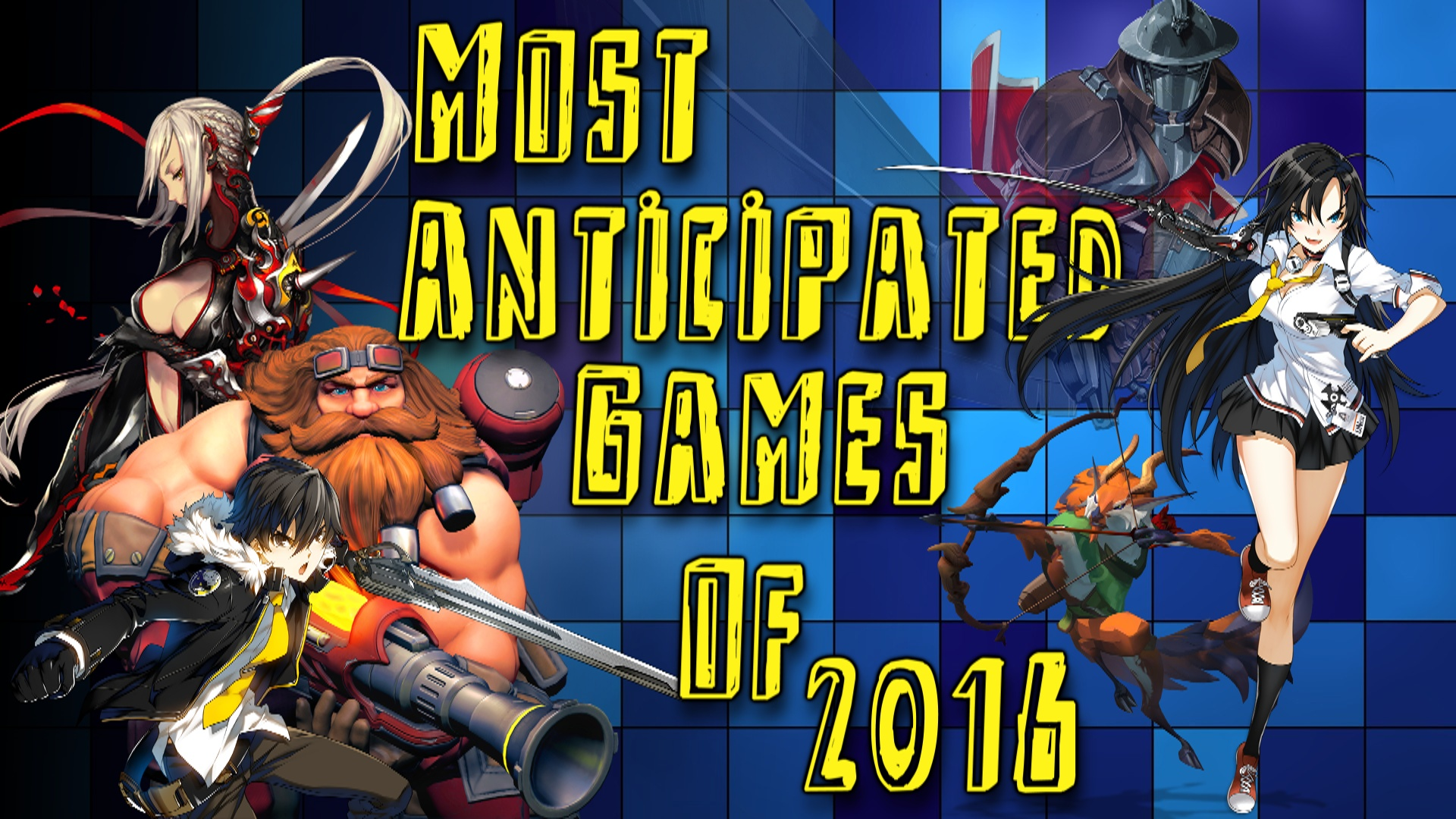 Top 15 Most Anticipated F2P Games of 2016