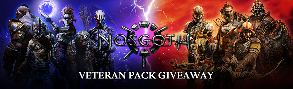 Go to Nosgoth Silenced Cathedral Veteran's Pack Giveaway