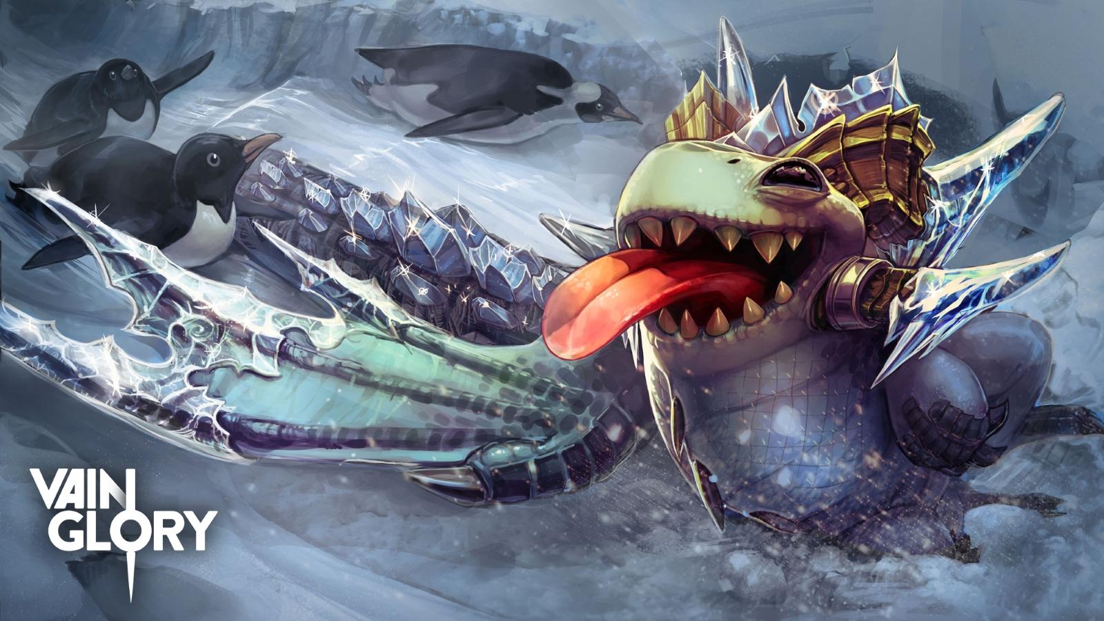 Vainglory Infinity Skaarf Tier 3 Art
