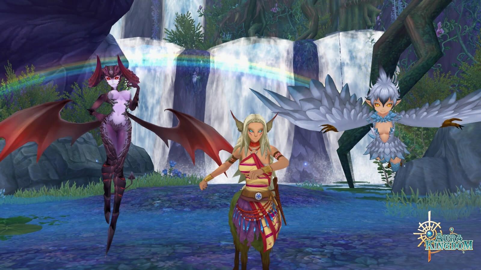 Aura Kingdom Level Cap Raises to 90 header