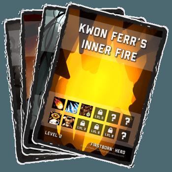 Deckbound Heroes Cards