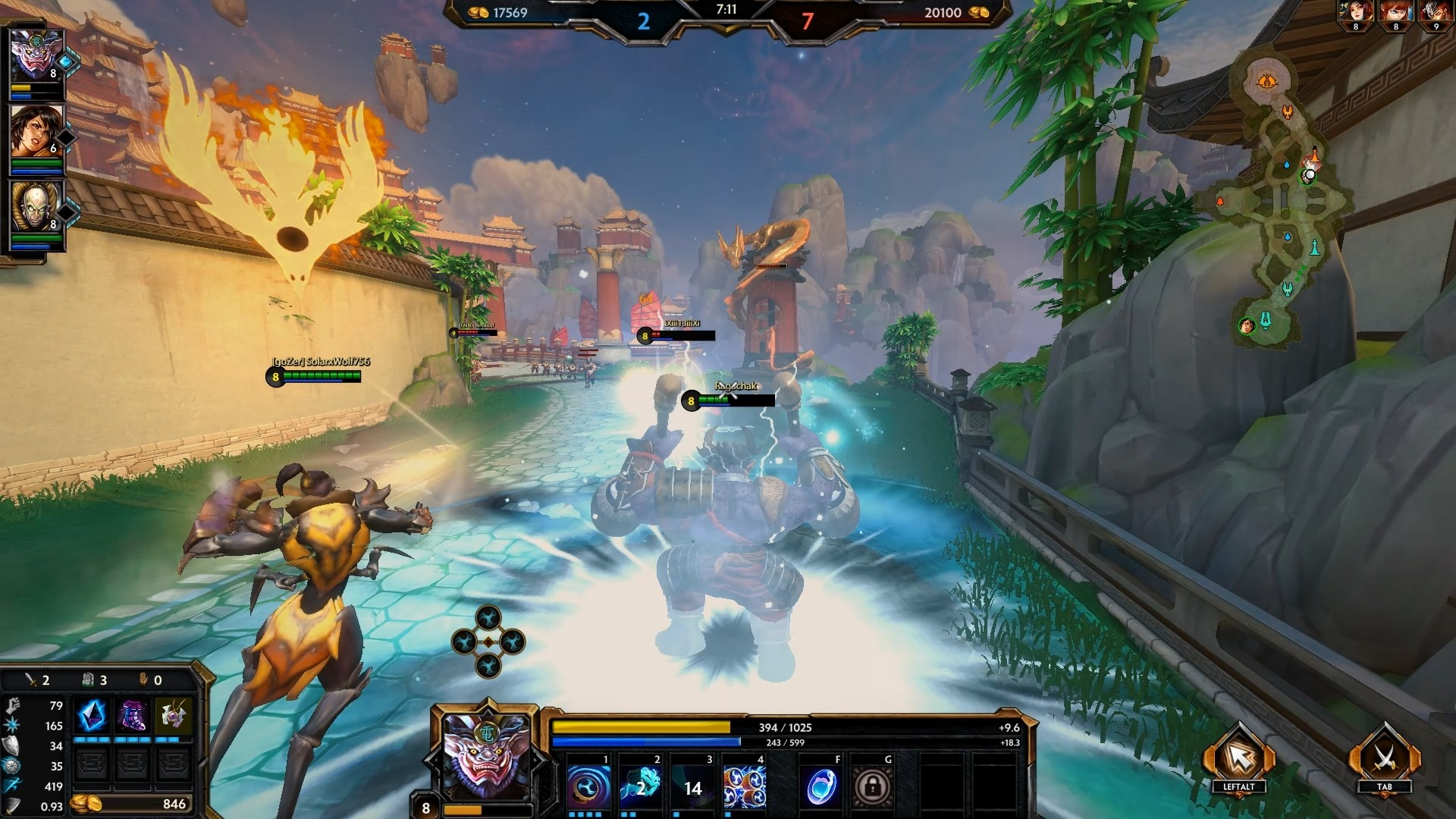 SMITE God Review: Raijin The God of Thunder