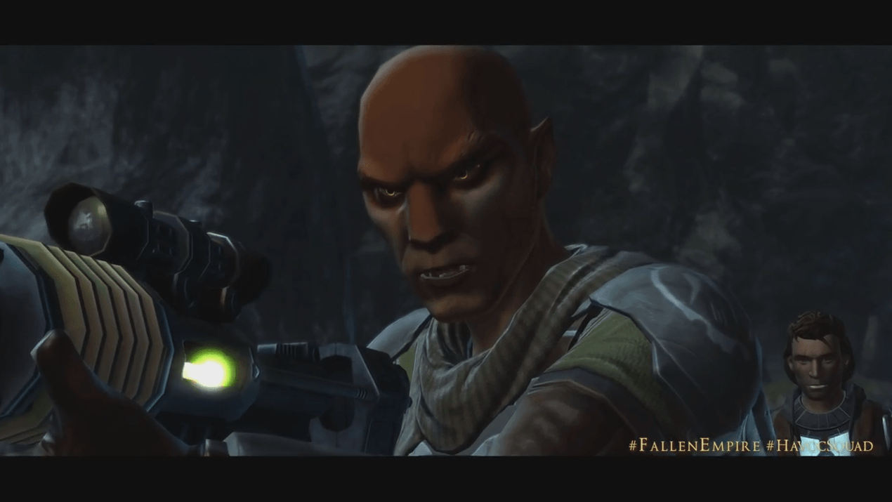 SWTOR Knights of the Fallen Empire Disavowed Teaser thumbnail