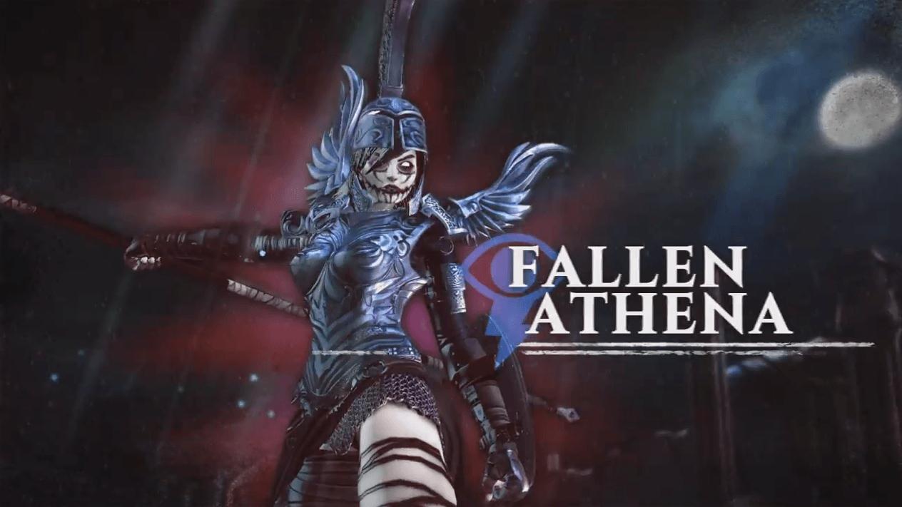 Gods of Rome Fallen Athena Spotlight