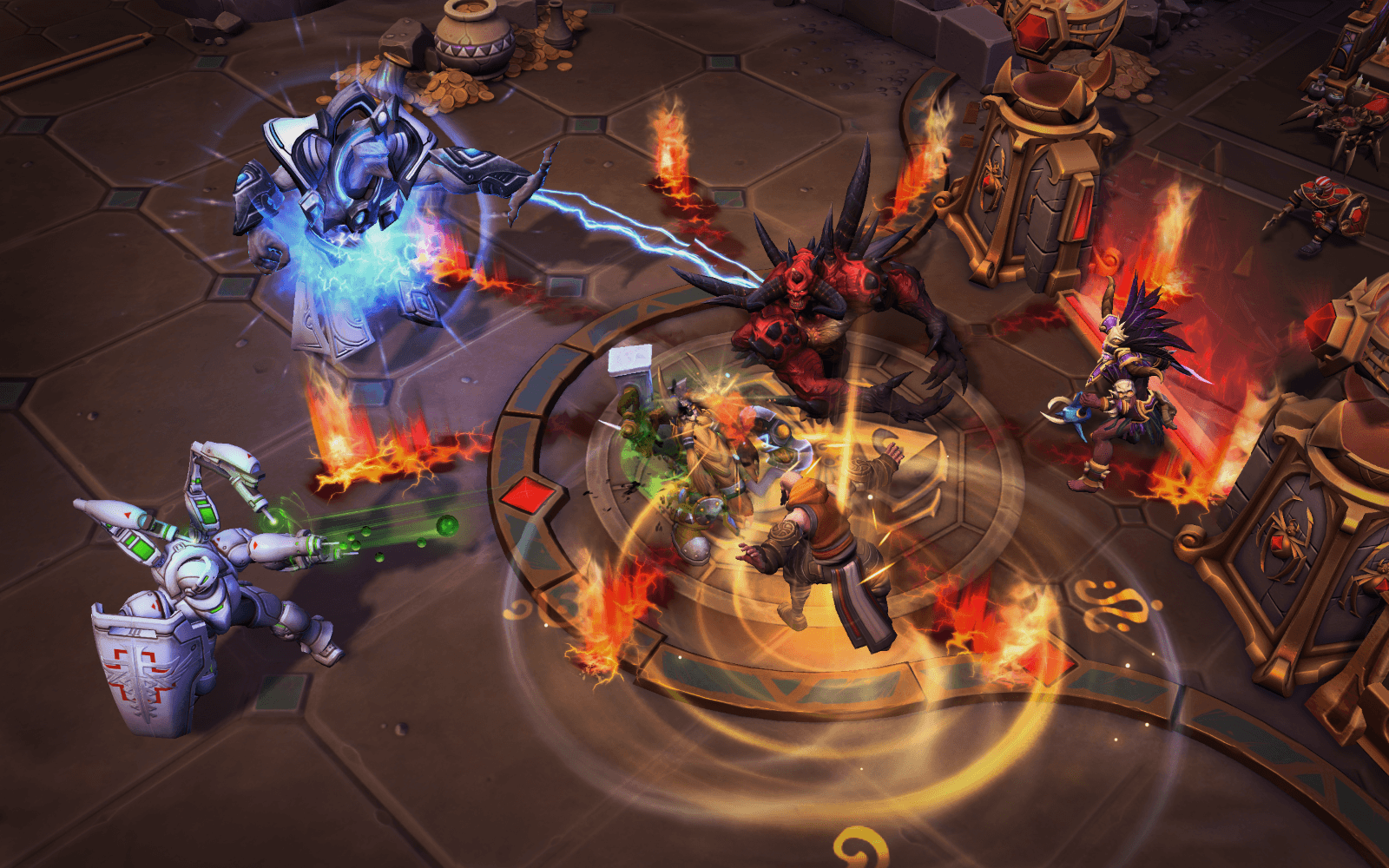 Heroes of the Storm Reveals New Lost Cavern Battleground