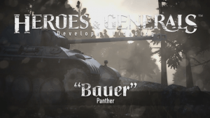 Heroes & Generals Bauer - Panther Update Overview thumbnail