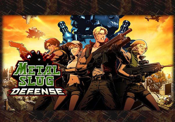 Metal Slug Defense Game Profile Banner