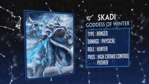 SMITE Skadi God Reveal