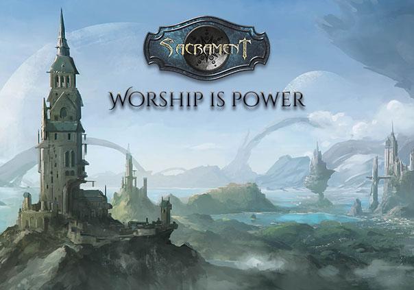 Sacrament Worship is Power Game Banner