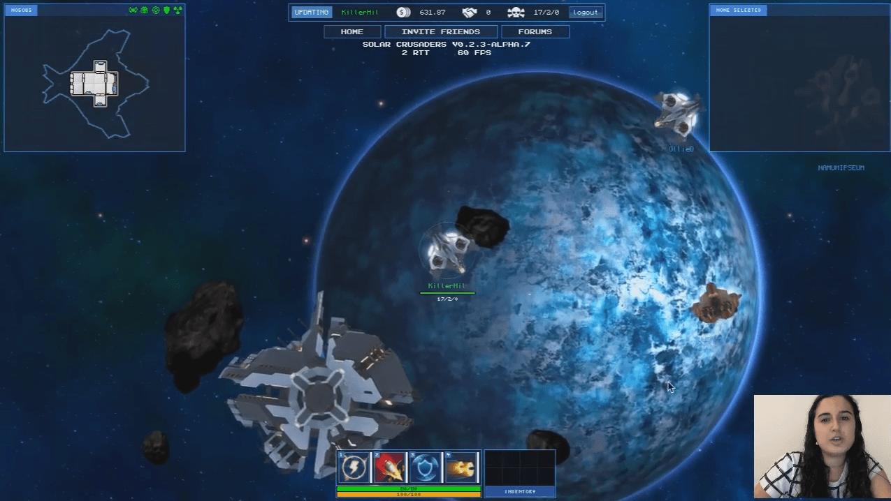 Solar Crusaders Alpha Gameplay Video Thumbnail