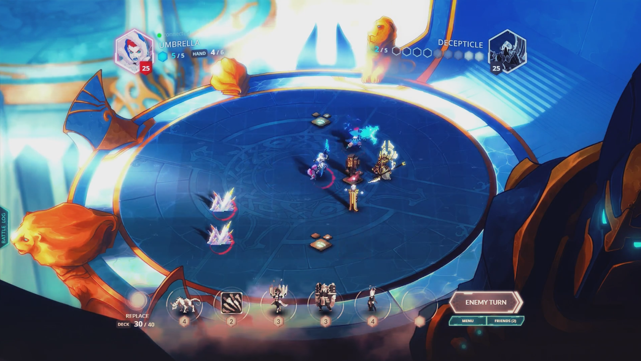 Duelyst Gameplay Launch Trailer Thumbnail