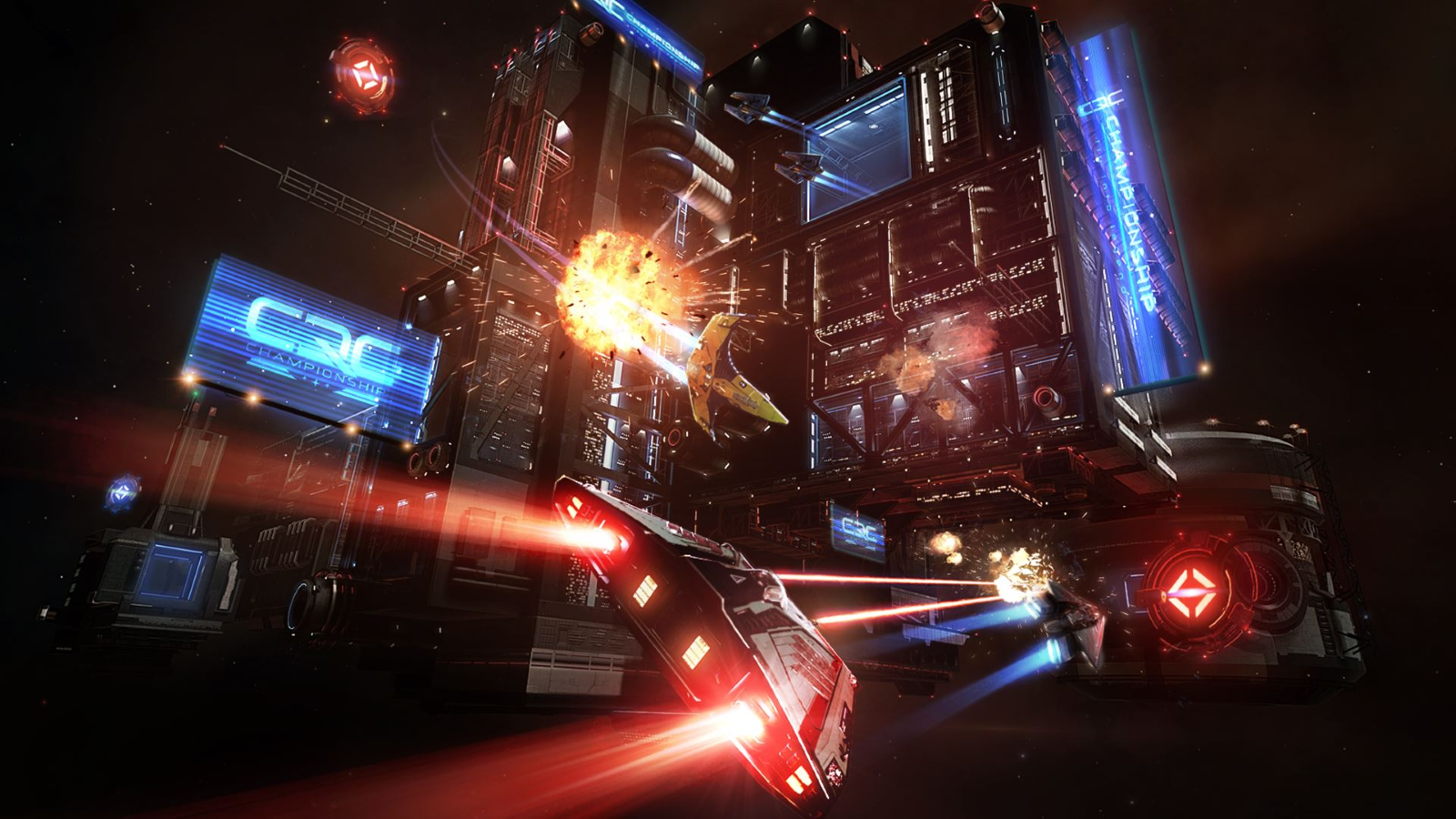 Frontier Launches Elite Dangerous: Arena for Xbox One