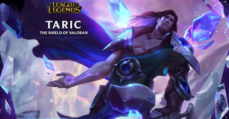 League OF Legends Taric Rework