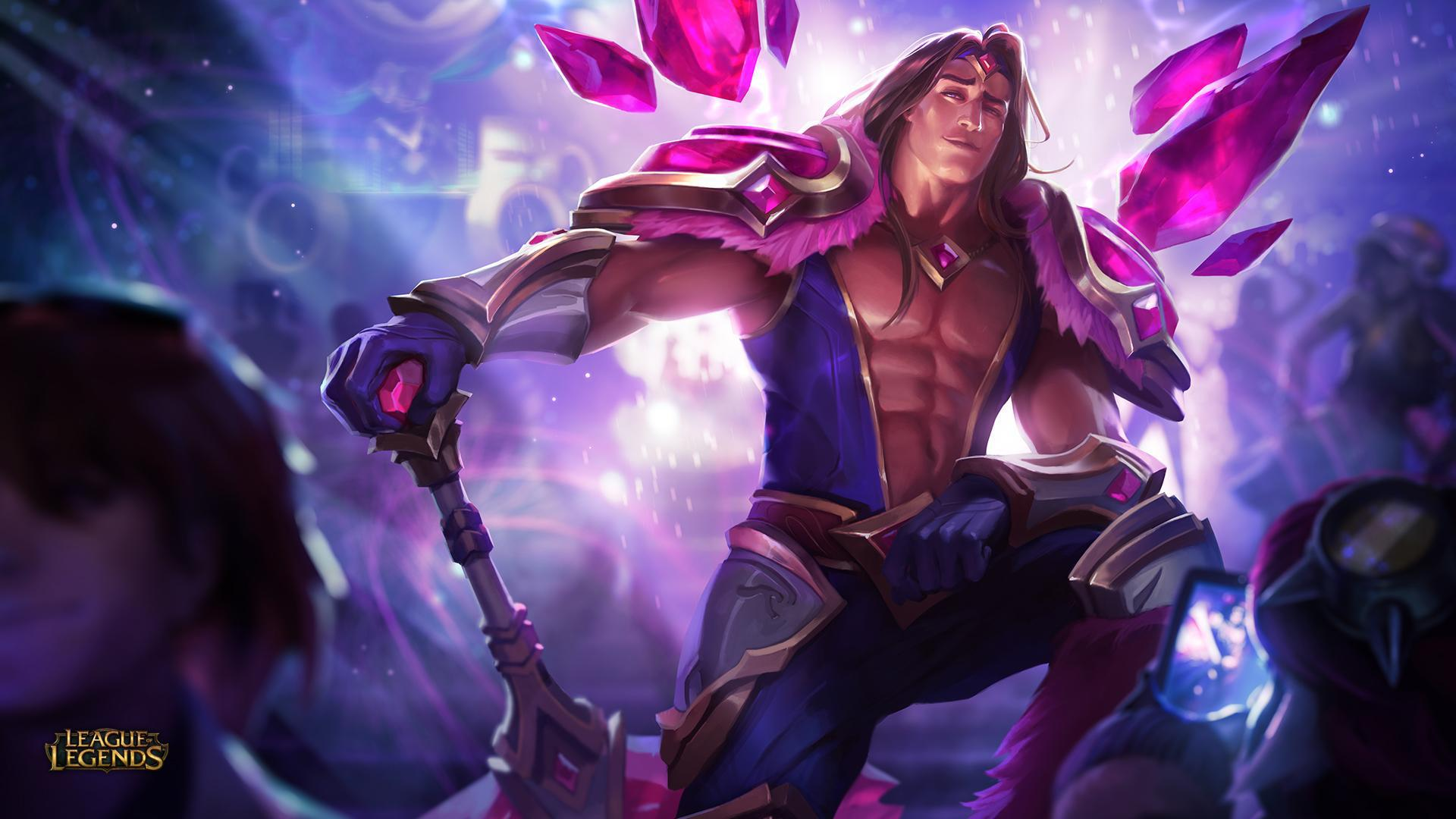 League OF Legends Taric Rework