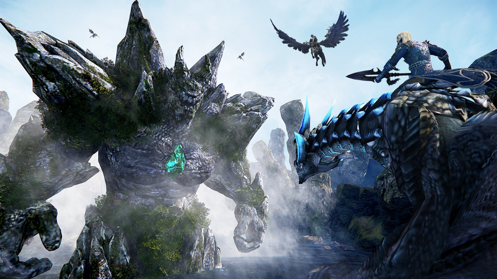 Riders of Icarus Begins Second Closed Beta