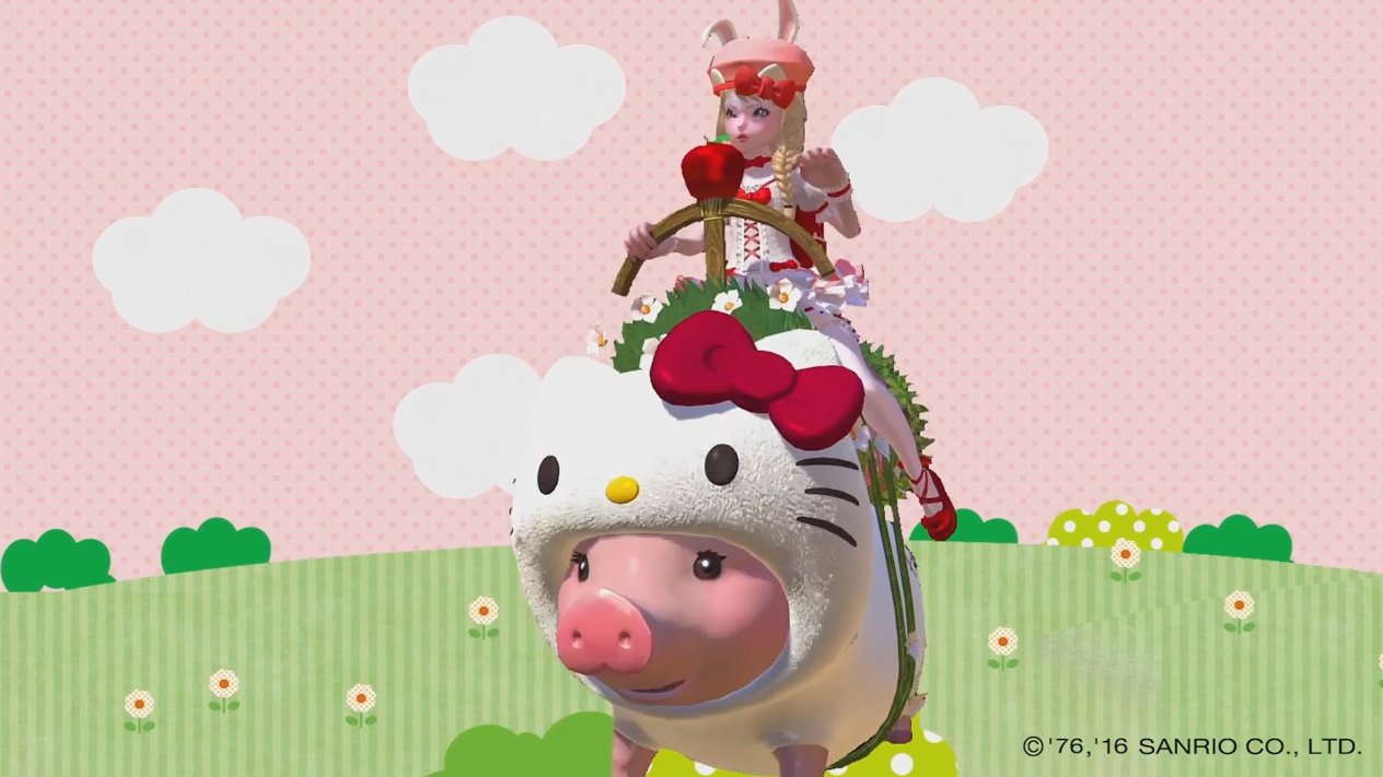 TERA Hello Kitty Trailer Thumbnail