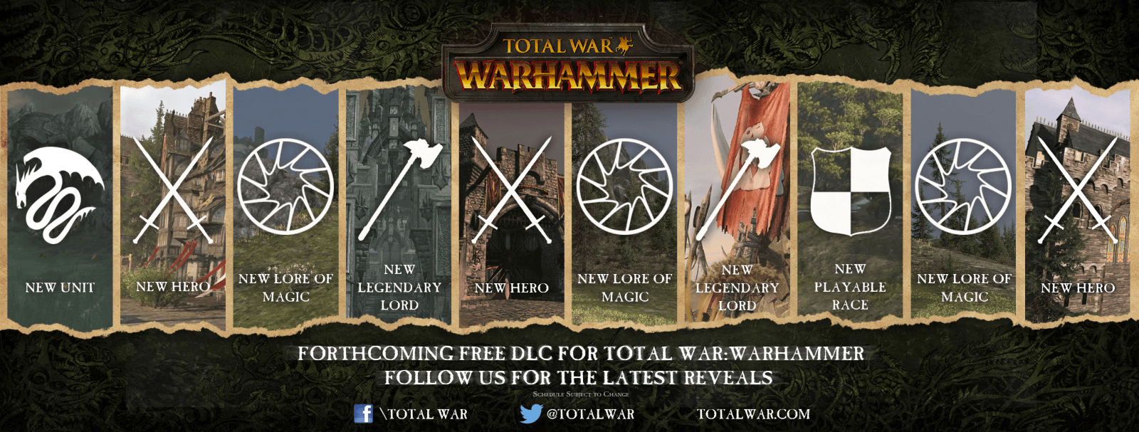 Total War: Warhammer Free DLC Plans Announced