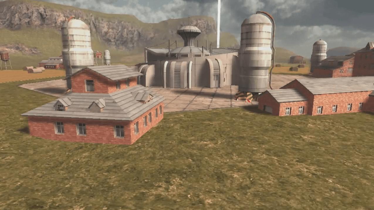 Walking War Robots Springfield Map Overview Video THumbnail