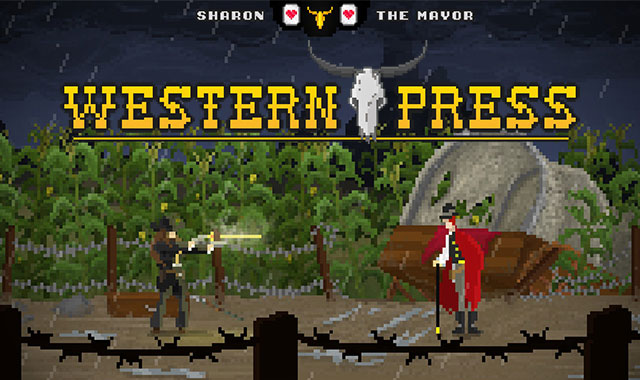 Western Press Game Banner