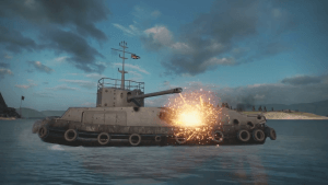 World of Tanks Console Tog Boat Mode