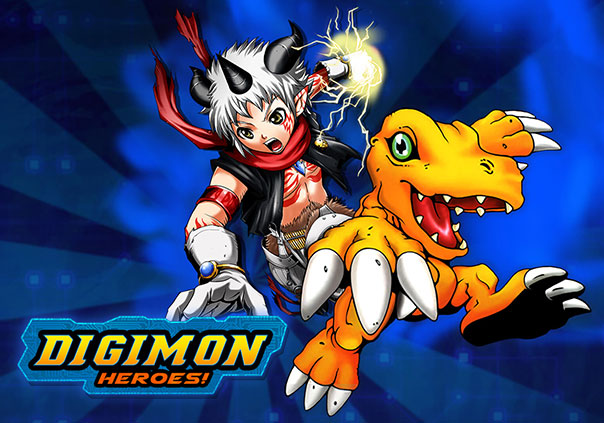 Digimon Heroes Game Profile Banner