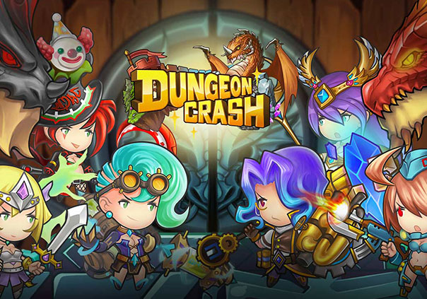 Dungeon Crash Mobile Game Banner
