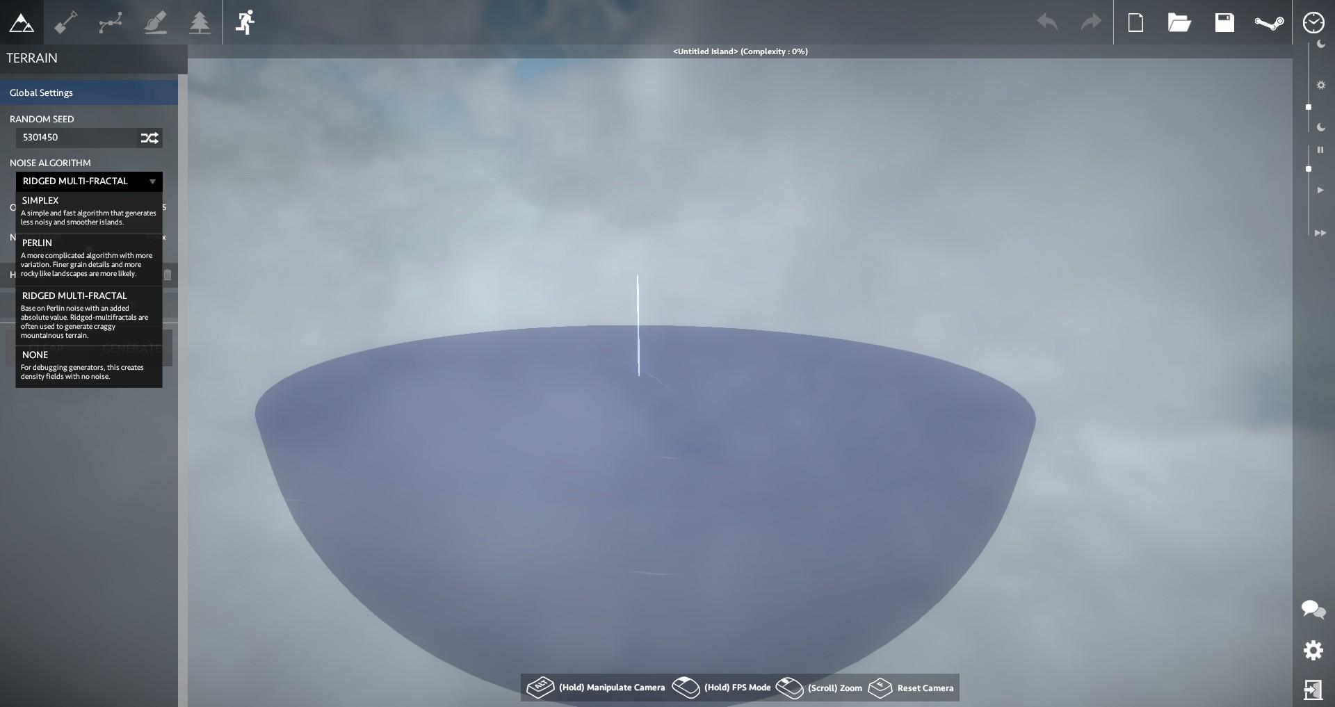 Worlds Adrift Sky Island Creation Tool Impressions