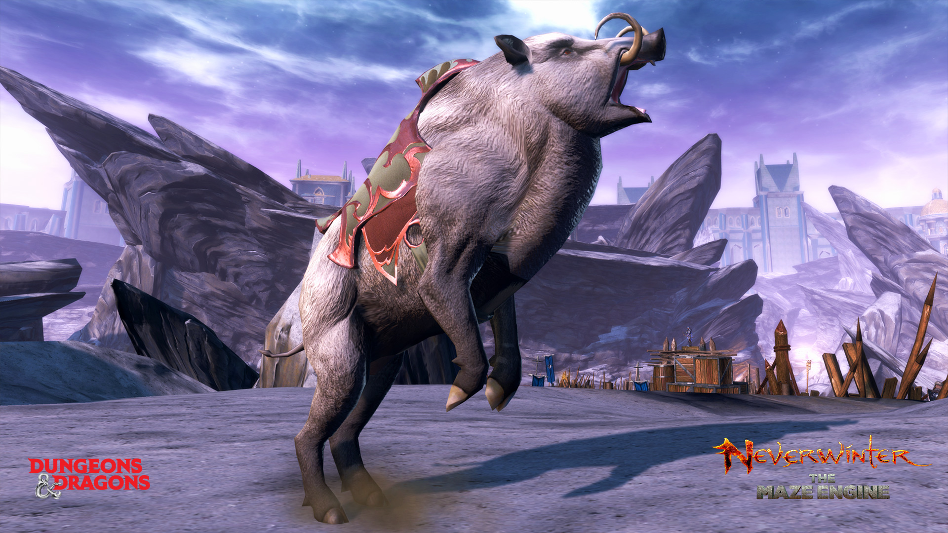 Neverwinter Boar Mount Raffle