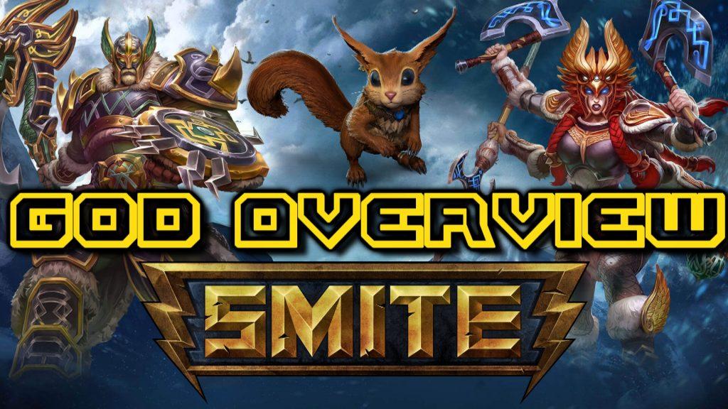 SMITE God Overview - Viking Invasion + Ratatoskr rework