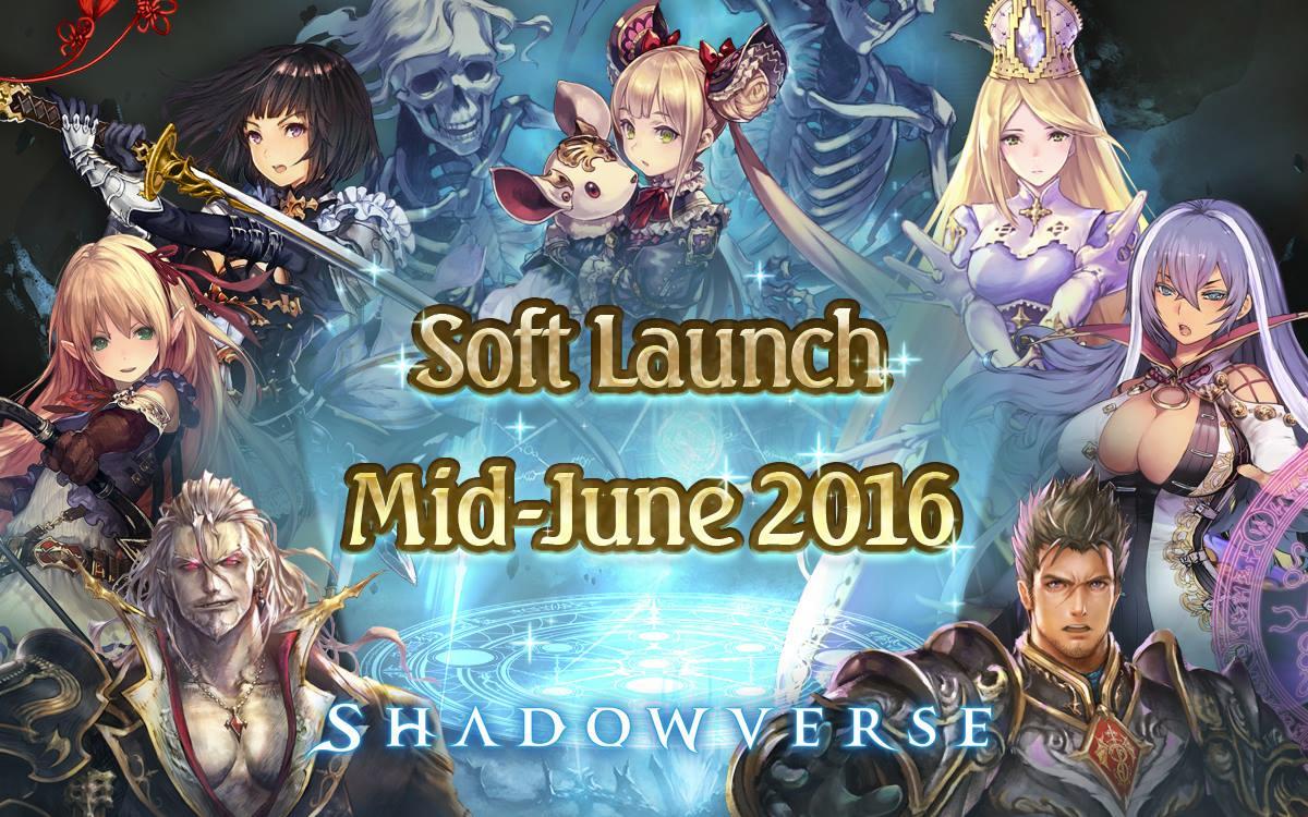 Shadowverse Announces Soft-Launch Plans