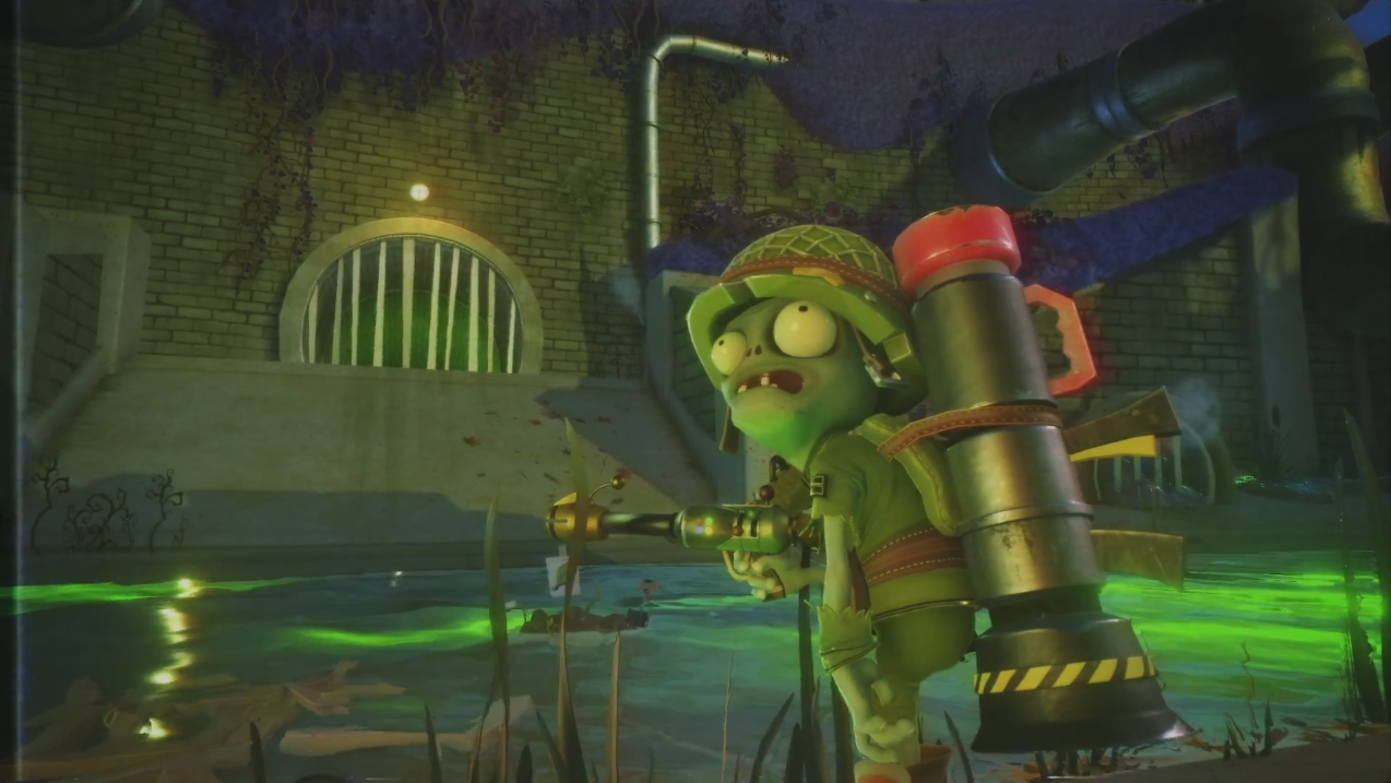Plants vs. Zombies Garden Warfare 2 Trouble in Zombopolis Trailer