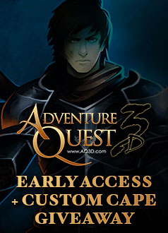 AQ3D Early Access + MMOHuts Cape Giveaway