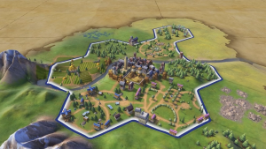 Civilization VI Unstacking Cities Feature