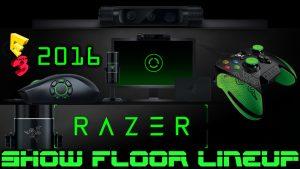 Razer E3 2016 Hardware Lineup - Streamers wanted!