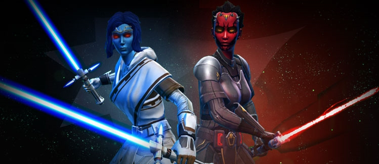 Dark vs. Light Takes Over the Star Wars: The Old Republic Galaxy
