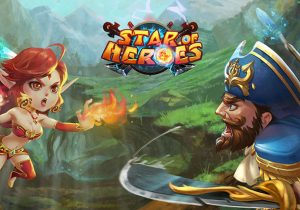 Star of Heroes Game Profile Banner