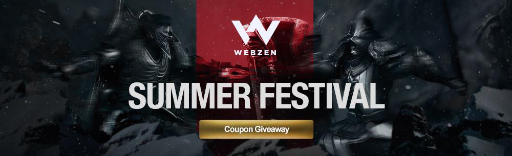 Webzen Summer 2016 Givaway MMOHuts