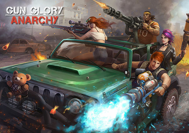 Gun Glory: Anarchy Game Profile Banner