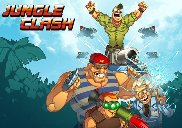 Jungle Clash Game Profile Banner