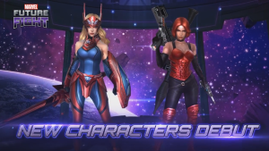 Marvel Future Fight Captain America (Sharon Rogers) & Sin Trailer