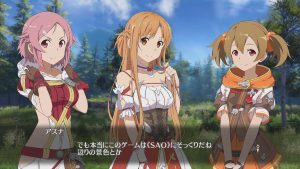 Sword Art Online: Hollow Realization Save the World Trailer