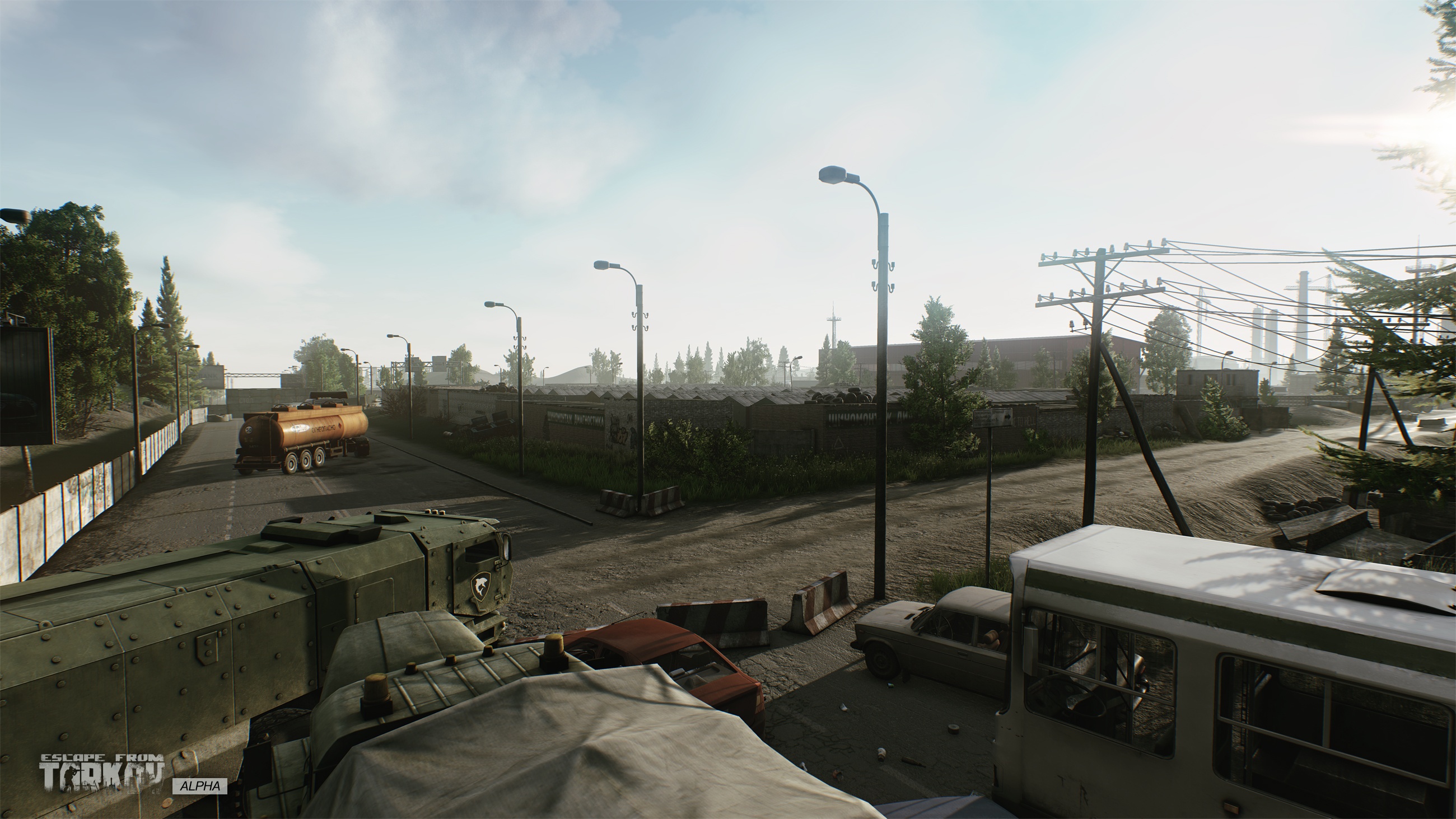 Escape from Tarkov Garage Park