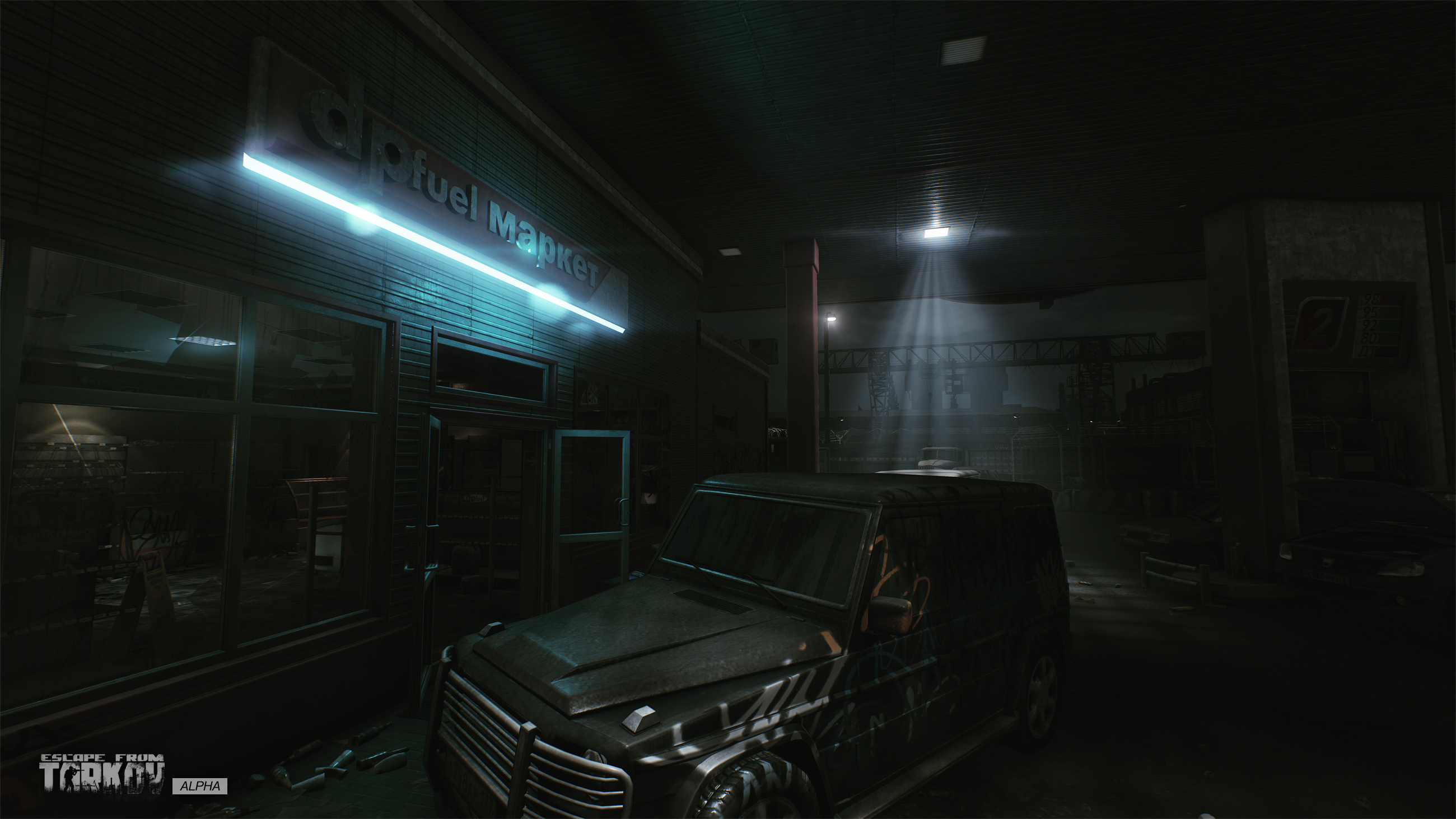 Escape from Tarkov Gas Station